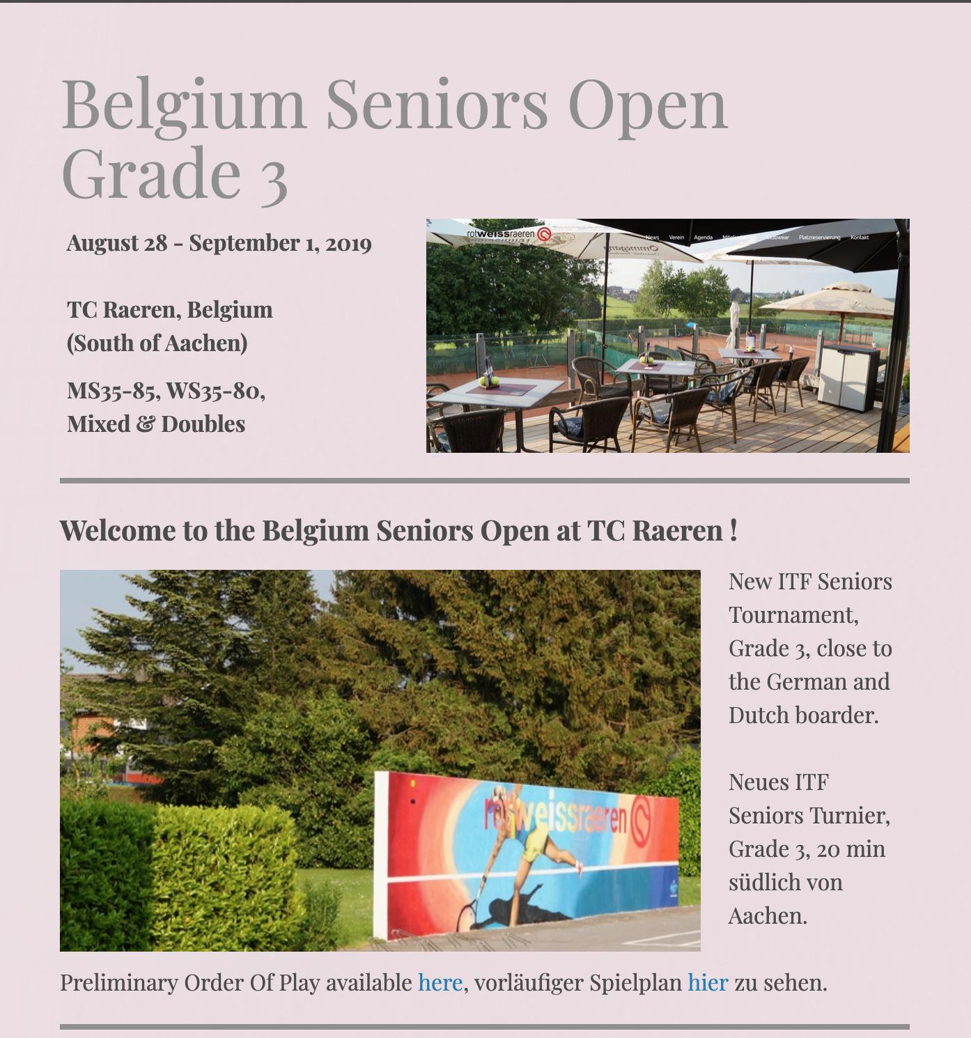 ITF Belgian Open